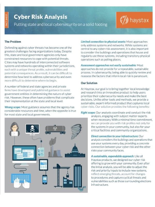 Cyber Risk Factsheet
